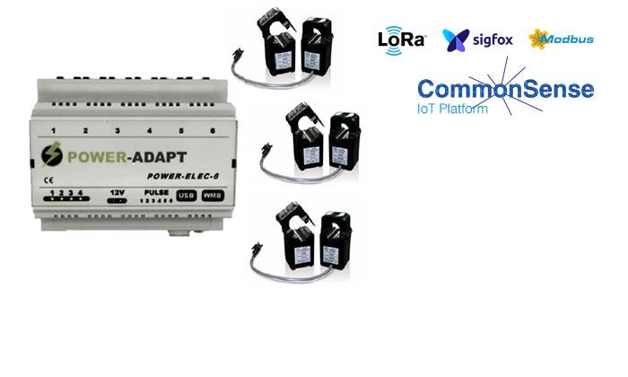 [FR] How Commonsense IoT platform & PowerElec by Eco Adapt helps to collect multi-circuit, sites and technologies  energy data?
