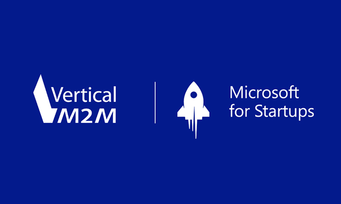 Vertical M2M joins the Microsoft for Startups program!